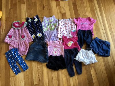 9 month baby girl clothes