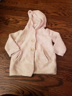 Baby gap heavy cable knit cardigan