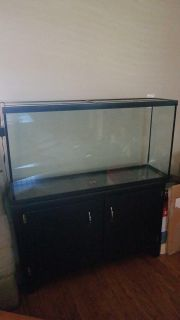 NEW 60 gallon aquarium with stand and LED