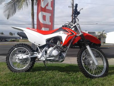 2017 Honda CRF125FH Competition/Off Road Motorcycles Orange, CA