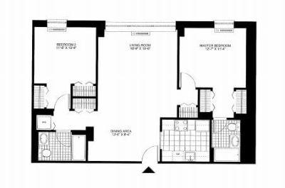 $7980 2 apartment in Hoboken