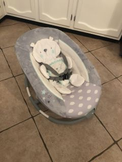Baby bouncer/rocker. Perfect condition used once or twice
