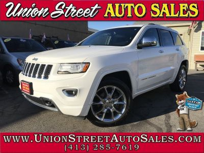 2015 Jeep Grand Cherokee 4WD 4dr Overland (Bright White Clearcoat)