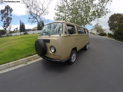 1971 VW Bus - Former Westfalia (Interior Space)