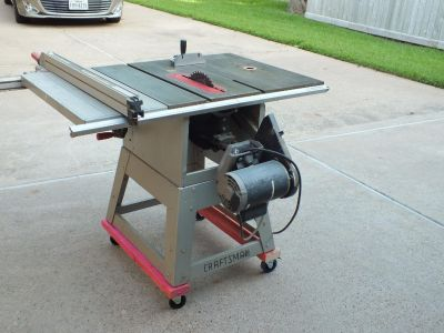 Craftsman 10' Table Saw with Stand