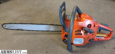 "For Sale/Trade: Husqvarna 240 18"" chainsaw"