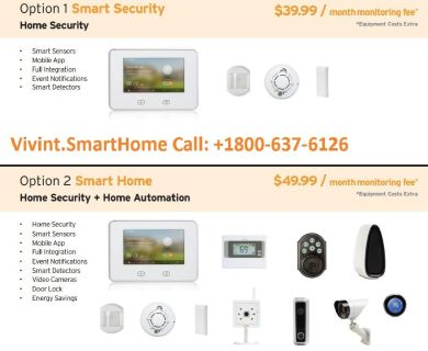 Vivint Home Security Camera | Plans Starting At $9.99/Month‎ | CALL NOW : +1-800-637-6126