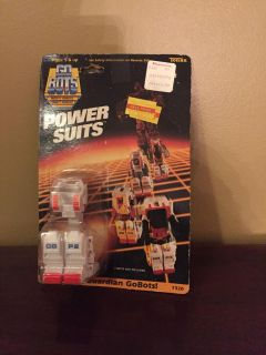1985 Go Bot Power Suits Sealed on Card