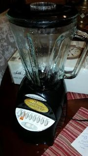 Black Glass Blender