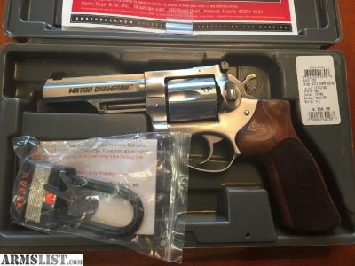 For Sale: Ruger GP100 Match Champion