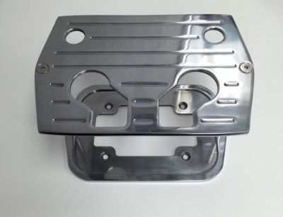 Find Polished B/Milled Billet Aluminum Optima Battery Tray - Chevy/Ford/Mopar motorcycle in La Verne, California, United States, for US $54.95
