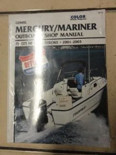 Purchase CLYMER OUTBOARD SHOP MANUAL FOR MERCURY/MARINER 75-225 HP 4-STRK 01'-03' ~ B712 motorcycle in Hollywood, Florida, United States, for US $27.99