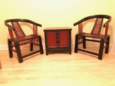 Chinese seating set
