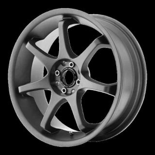 "Sell 17"" WHEELS RIMS MOTEGI MR125 TITANIUM GRAY MUSTANG SONATA 3000 LANCER CAROLLA motorcycle in Addison, Illinois, US, for US $549.00"
