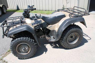 2000 Suzuki King Quad ATV Utility Adams, MA
