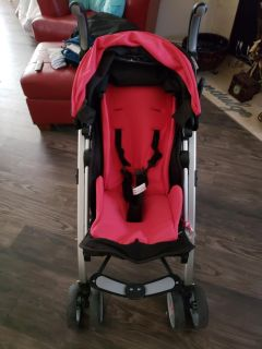 Baby stroller - pink - great condition!