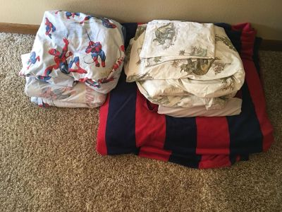 Pottery barn kids queen size bedding