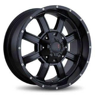 Havok H101 wheels Offroad 20x10 6x135/5.5 Black
