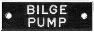 Buy Bernard Engraving IP002 NAMEPLATE INBILGE PUMPSIN PKG5 motorcycle in Stuart, Florida, US, for US $16.41