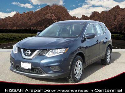 2016 Nissan Rogue S (Arctic Blue Metallic)