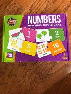 Numbers Puzzle Game - BRAND NEW