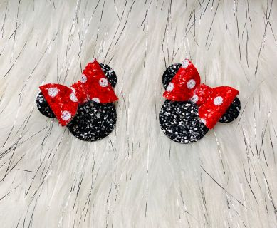 Minnie Mouse pig tails