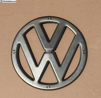 Vw Bus Front Emblem with clips - 1955-1967