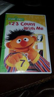 Sesame Street DVD * 123 Count with Me