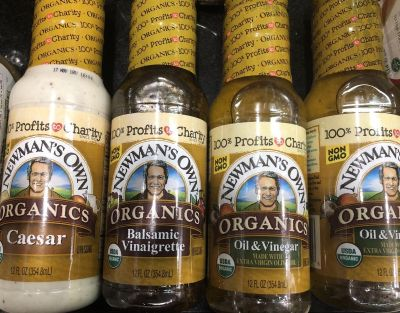 Newmans Own Salad Dressing