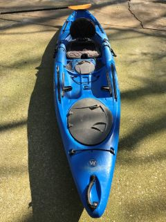 Very Stable and Smooth Paddling Kayak and Paddle For Sale!