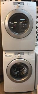 FRONT LOAD WASHER AND DRYER KENMORE ELITE ELECTRIC
