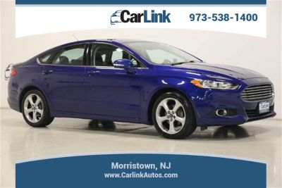 2014 Ford Fusion SE (blue)