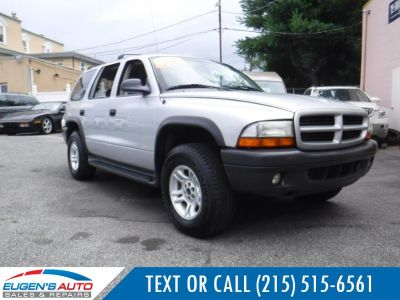 2003 Dodge Durango Sport (Bright Silver Metallic)
