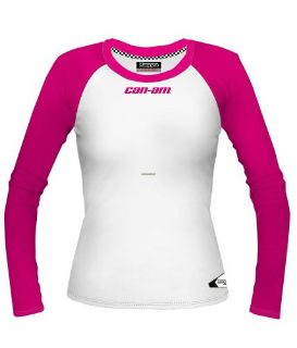 Sell Can-Am -Ladies Kappa Designed For Can-Am Long Sleeve Tee -Pink/White motorcycle in Sauk Centre, Minnesota, United States, for US $34.99