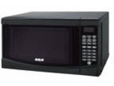 RMW733-BLACK Microwave Oven 0.7 cu ft Black Kitchen Major