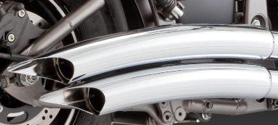 Sell Vance Hines Exhaust Big Shots Chrome Kawasaki 2006-2012 VULCAN 900 VN900 motorcycle in Pomona, California, US, for US $638.95