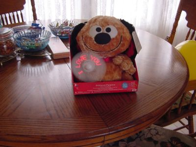Animated Stuffed Dog