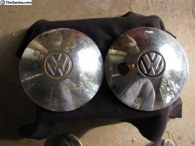 Original Used VW Hubcaps