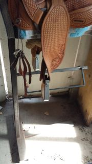 Saddlestand, Two Tier Custom Made