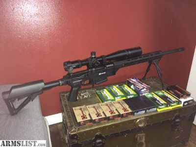 For Sale/Trade: Savage Model 10 Ashbury Precision Ordnance .308 Bolt Action Chassis Gun, Vortex HST 6-24x50, Harris Bipod, 300 rds Ammo, Like New