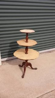 Antique 3 tier stand