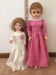 Two old Dolls