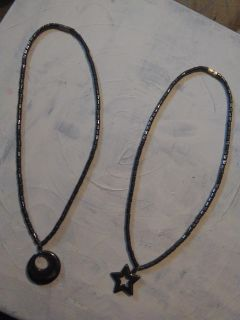 Black Stainless Steel Necklaces