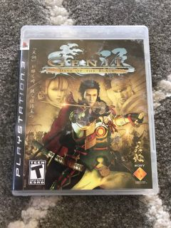 PlayStation 3 game Genji