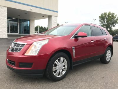 2010 Cadillac SRX Luxury Collection (Red)