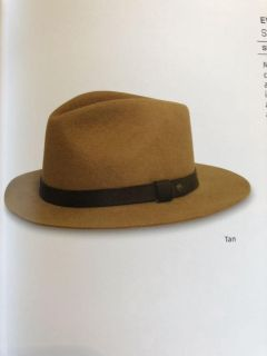 NWT 100% wool man s hat size large. Rep sample. Ppu