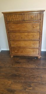 Solid wood dresser chest