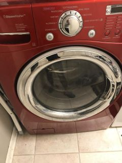 LG steam Washer and Dryer set