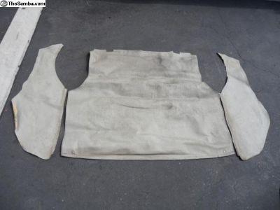 Original Fastback engine/luggage mats 66-67