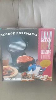 New George Foreman Grill